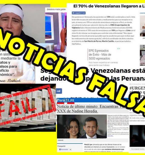 Noticias falsas en el Peru