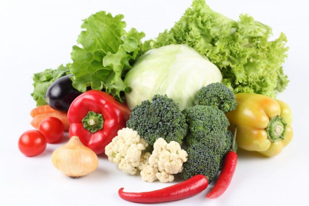 Vegetales frescos proporcionan al cuerpo coenzimas que son fáciles de absorber